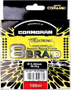 Шнур плетёный Cormoran 8 braid CMN-0,35